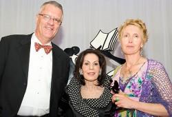 Ian Parry-Okeden, Selwa Anthony & Judy Johnson