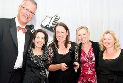 Ian Parry-Okeden, Selwa Anthony, Brigitta Doyle, Karen Penning & Belinda Bolliger
