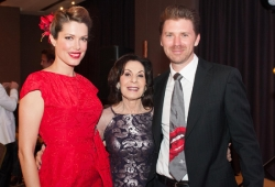 Tara Moss, Selwa Anthony & Berndt Sellheim