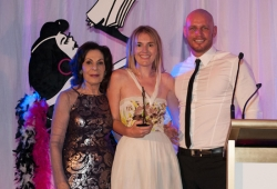 Selwa Anthony with Sassy Winner Louise Cornege & Paul de Gelder