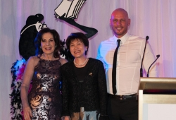 Selwa Anthony with Sassy Winner Hilda Wong-Ehrhardt & Paul de Gelder