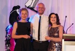 Sassy Winner Ingrid Ohlsson with Selwa Anthony & Paul de Gelder