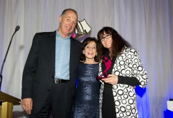 Sassy Winners Maggie Hamilton & Derek Dryden, Lynne Wilding Award for Excellence