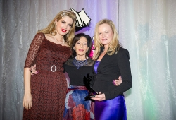 "Winner of the Sassy Award for her brave memoir, ""Killing Love"" published by Simon & Schuster, Rebecca Poulson with Selwa Anthony & Tara Moss"