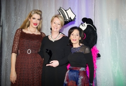 Sue Smethurst with Selwa Anthony & Tara Moss