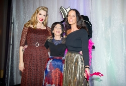 Rebecca Hermann with Tara Moss & Selwa Anthony