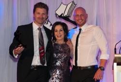 Sassy Award winner Berndt Sellheim, Selwa Anthony & Paul de Gelder