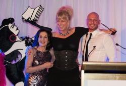 Selwa Anthony with Sassy Winner Susanna Freymark & Paul de Gelder