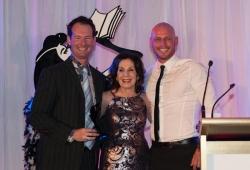 Sassy Winner Drew Keys with Selwa Anthony & Paul de Gelder