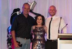 Sassy Winner Andrew Daddo with Selwa Anthony & Paul de Gelder