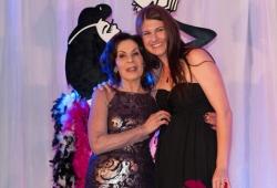 Selwa Anthony with Sassy Award winner Jessica Shirvington