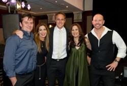 FABBA members with Matt Shirvington (middle)