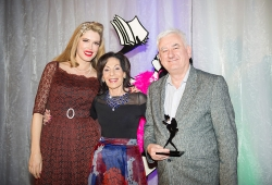 Winner of the Sassy Award for his novel Palace of Tears published by Allen & Unwin, Julian Leatherdale with Selwa Anthony & Tara Moss