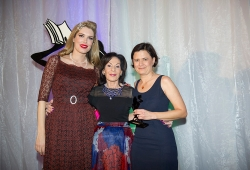 Winner of the Sassy Award for Passion and Positive Attitude, Anna O'Grady from Simon & Schuster