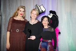 Sue Smethurst with Selwa Anthony & Tara Moss
