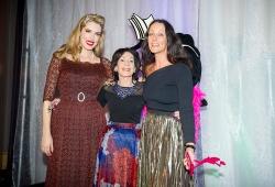Rebecca Hermann with Tara Moss & Selwa Anthony
